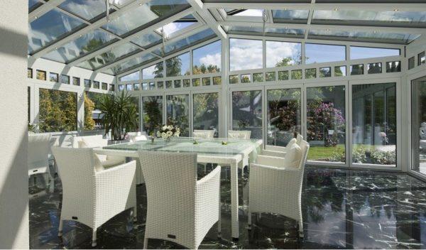 Cortinas de cristal: y cambia el aspecto de tu casa