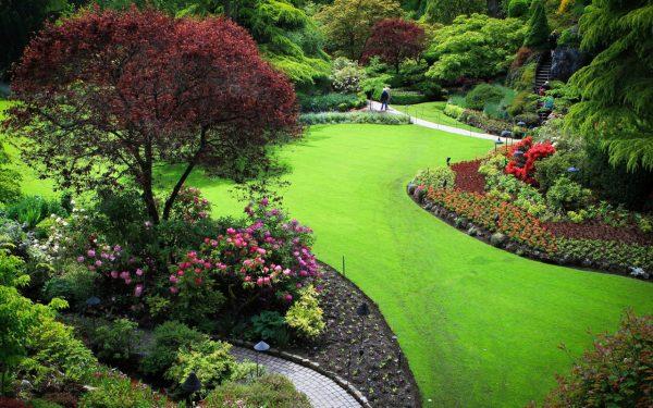 Decoración de patios y jardines