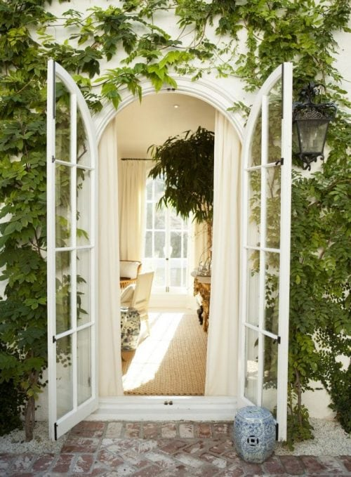 vivir puertas hacia fuera