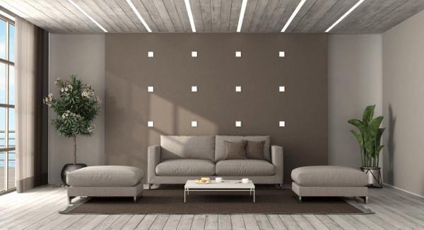Cojines minimalistas para la sala