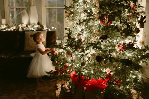 Decoración navideña sencilla para 2019