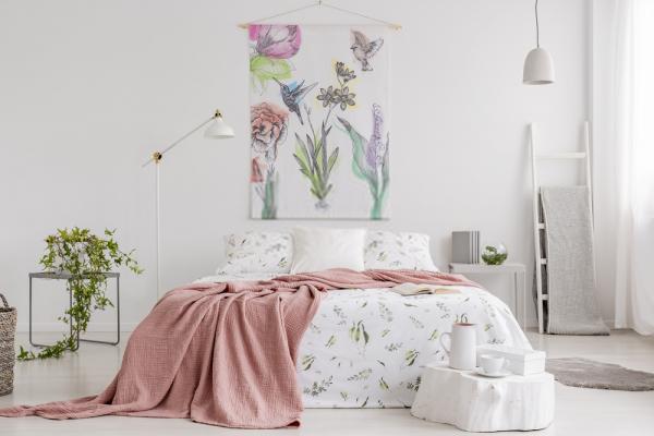 Consejos para limpiar las paredes y Decorar con telas