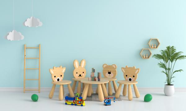 Pequeños sillones para la habitación infantil