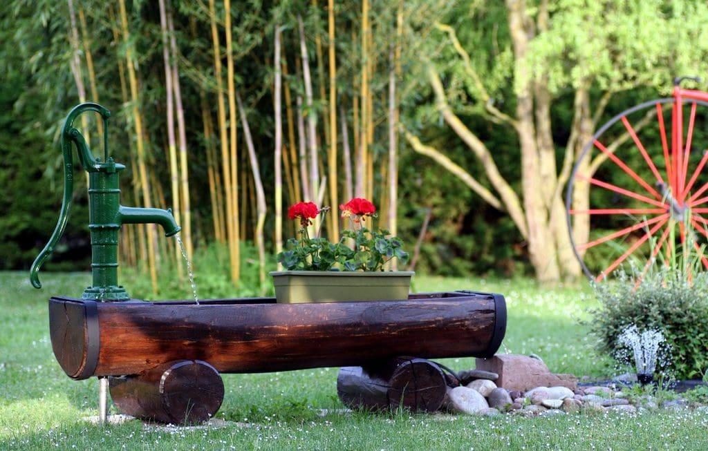 mueble bambú