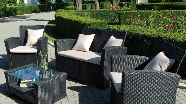 15 muebles de jardín con estilo propio